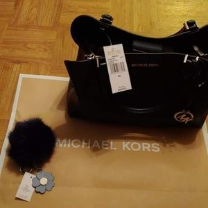 Michael Kors bag and key chain